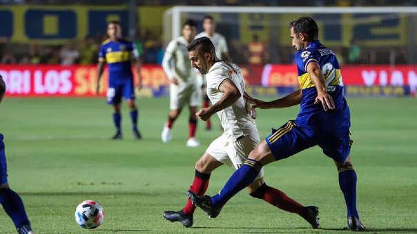 Boca Juniors y Universitario se enfrentan en amistoso internacional