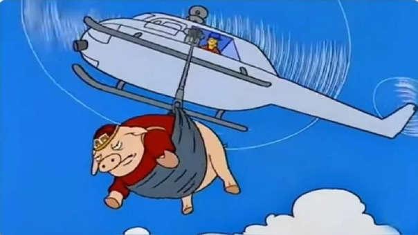 Estos son los memes por el cordero que fue lanzado desde un helicópeto en Uruguay.