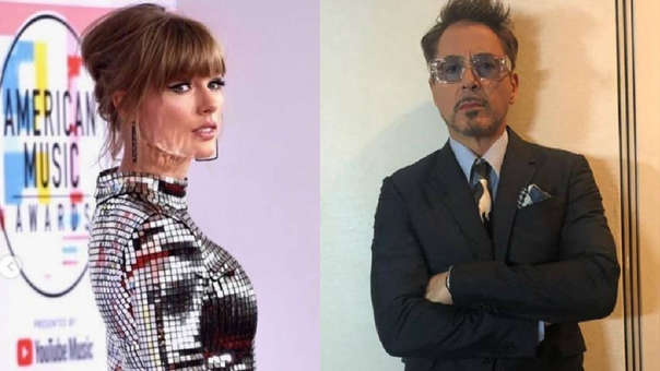 Robert Downey Jr. comparó a Taylor Swift con una araña.