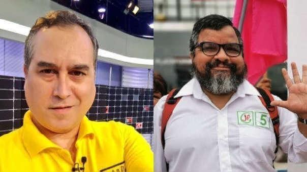 El experiodista Mario Bryce y el abogado Julio Arbizu protagonizaron un polémico debate en el diario El Comercio.