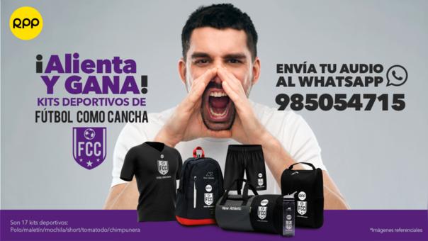 Alienta y gana kits deportivos de Fútbol Como Cancha.
