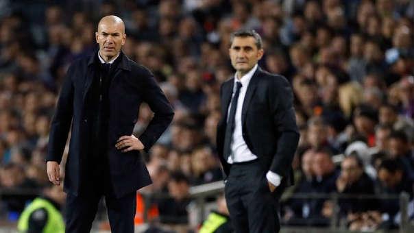 Zidane y Valverde se enfrentaron seis veces, con dos victorias para cada uno.