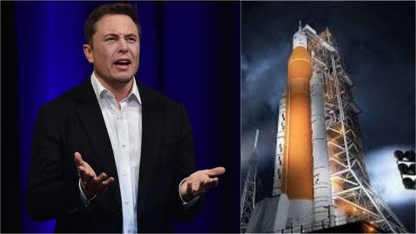 Elon Musk no está impresionado con los cohetes SLS.