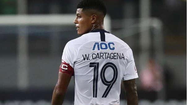 Wilder Cartagena es pretendido por Godoy Cruz de Argentina.