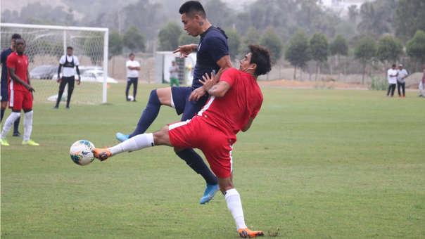 Alianza Lima derrotó a San Martín en partido amistoso.