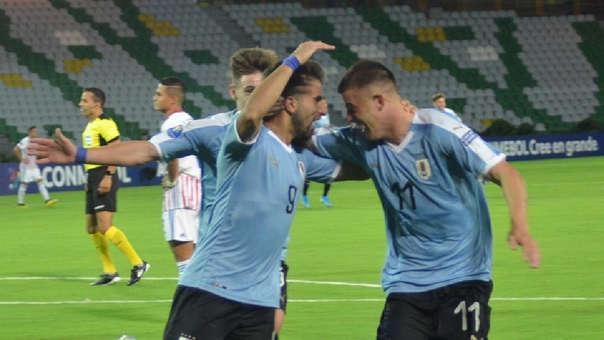 Uruguay venció 1-0 a Paraguay en la primera fecha del grupo B del Preolímpico Sub 23