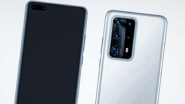 El P40 Pro ha sido filtrado con lujo de detalles