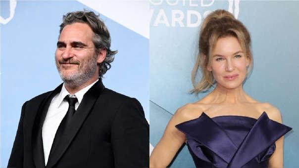 Los actores Joaquin Phoenix y Renée Zellweger serían los posibles ganadores de los Oscar 2020.