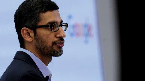 Sundar Pichai, CEO de Google, admite los efectos negativos de la inteligencia artificial.