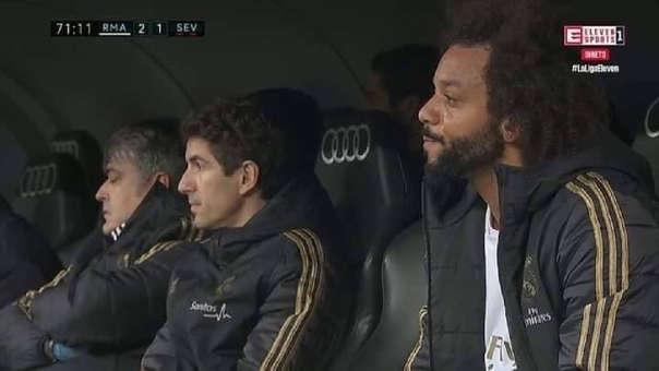 13 años en el Real Madrid, 21 títulos y así le pagan los hinchas: las lágrimas de Marcelo al ser pifeado