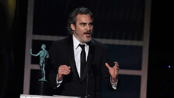 Joaquin Phoenix mencionó al fallecido actor Heath Ledger en su discurso, tras recibir el premio a Mejor actor en los SAG Awards 2020.