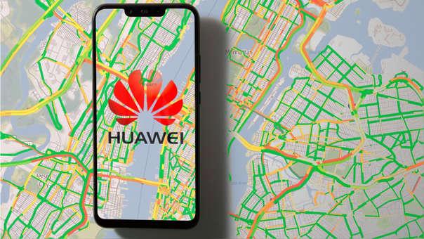 Huawei tiene un nuevo socio para los mapas.