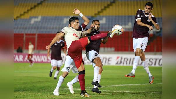 ¡Celebra 'crema'! Dos Santos puso el empate para Universitario ante Carabobo