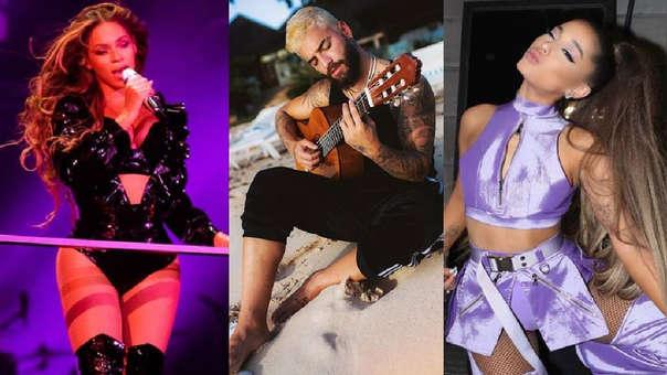 Beyonce, Maluma y Ariana Grande están en la lista de los nominados a los Grammys 2020.