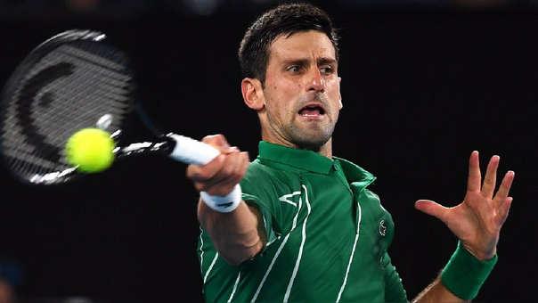 Así fue la reacción de Novak Djokovic al perder una partida de