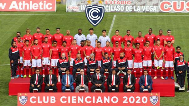 Cienciano presentó a su plantel para la temporada 2020.
