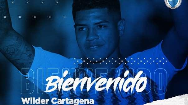 Wilder Cartagena fichó por Godoy Cruz de Argentina.