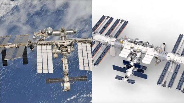 La NASA y Lego lanzarán una mini Estación Espacial Internacional.