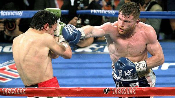 Julio Cesar Chávez Jr. retó a Canelo Álvarez, y el boxeador respondió así.