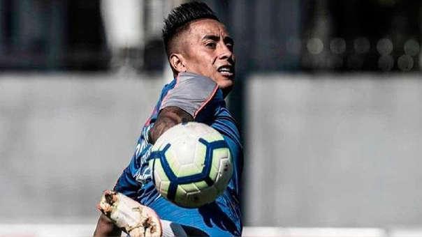 Christian Cueva busca salir de Santos FC.