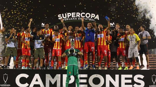 Atlético Grau salió campeón de la Supercopa Peruana de Fútbol