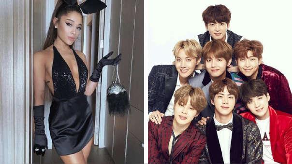 Ariana Grande y BTS