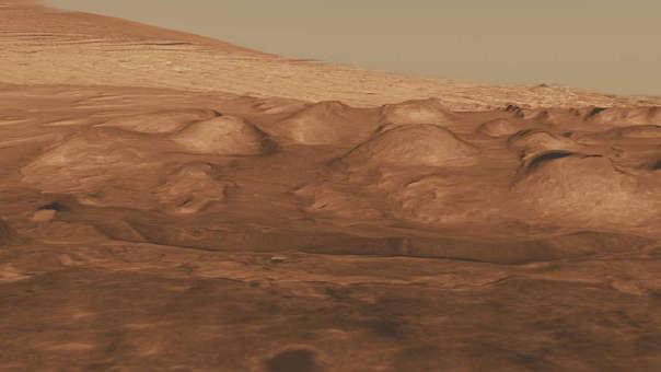 Análisis se realizó con muestras obtenidas en el cráter Gale.