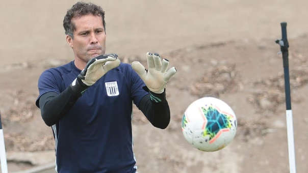 Leao Butrón disputará su última temporada como futbolista profesional.