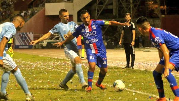 Renzo Sheput jugó con camiseta de Mannucci y Sporting Cristal