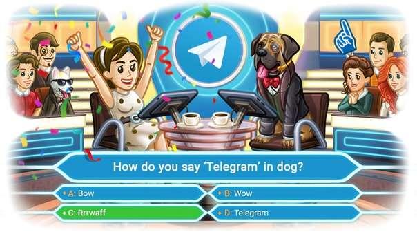 Encuestas tipo concurso de Telegram.