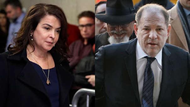 Harvey Weinstein: Annabella Sciorra, actriz de