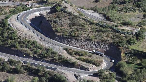 Carretera Yauiri-Negromayo-Imata, Tramo DV Imata-Oscollo-Negromayo.