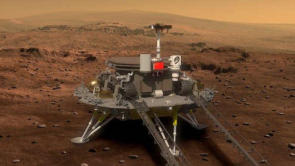 China aprovechará el acercamiento a Marte que reduce el tiempo de viaje a apenas siete meses.