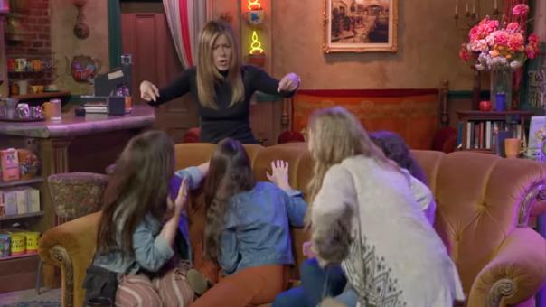 Jennifer Aniston sorprendió a fans de