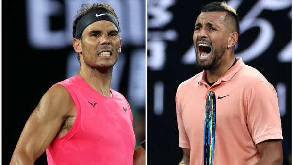 Nadal y Kyrgios se enfrentarán en la cuarta ronda del Abierto de Australia.