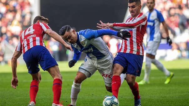 Atlético de Madrid empató 0-0 con Leganés por la fecha 21 de LaLiga