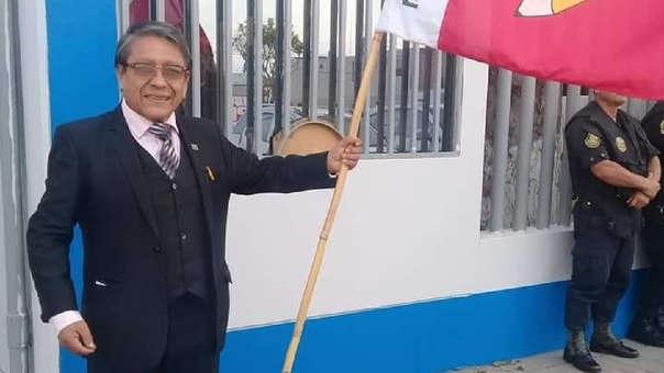 Ciro Castillo Rojo postuló con Perú Libre con el número 1.