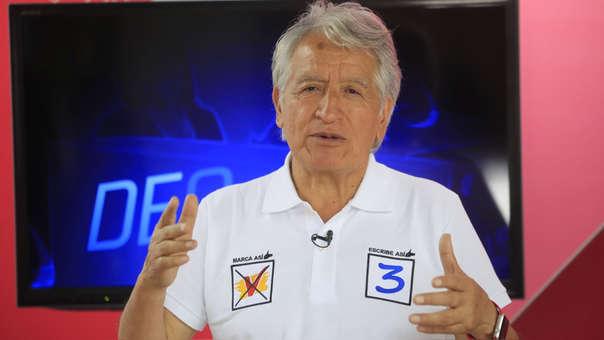 Virgilio Acuña dijo que su partido UPP buscará alianzas con otras bancadas para lograr la liberación de Antauro Humala.