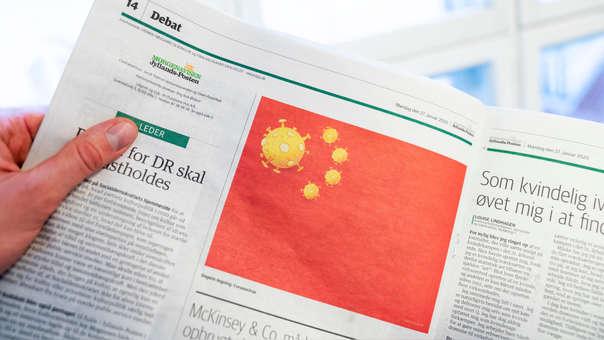 DENMARK-CHINA-HEALTH-VIRUS-MEDIA-DIPLOMACY
