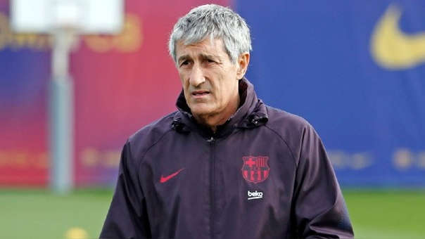 FC Barcelona | Quique Setién sobre el reemplazo de Luis Suárez ...