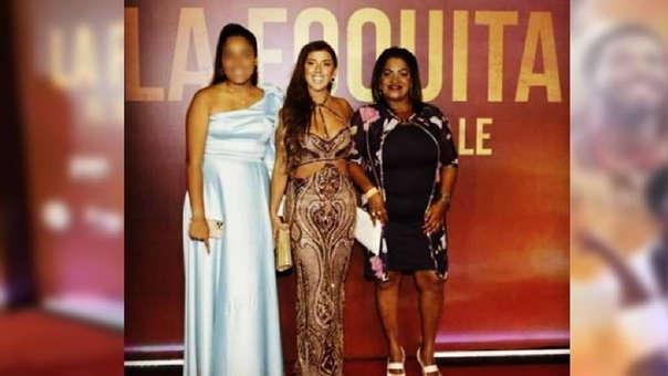 """Yahaira Plasencia llegó a la avant premiere de """"La Foquita: el 10 de la calle""""."""