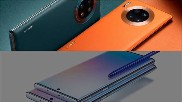 Huawei y Samsung son los mayores impusores del 5G.