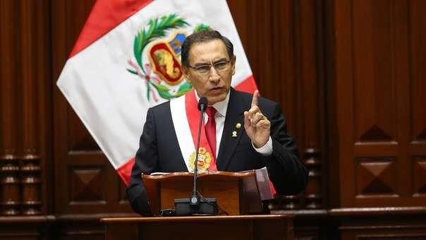 El presidente Vizcarra se reunirá con las nuevas bancadas.