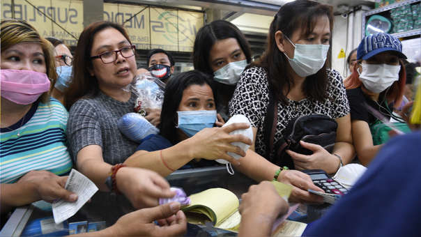PHILIPPINES-CHINA-HEALTH-VIRUS