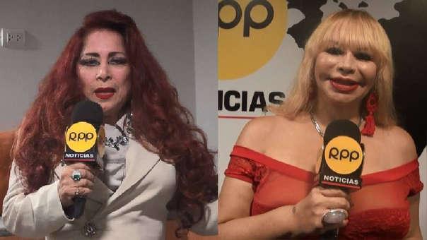 Monique Pardo se refirió a las producciones que Susy Díaz.
