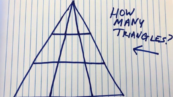 Reto de los triángulos