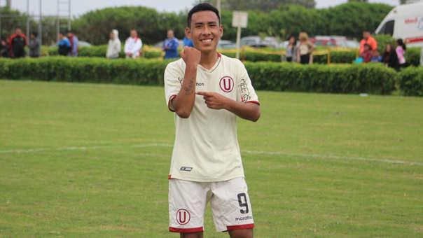 Sebastián Enciso, el goleador juvenil de Universitario que se unió a Racing de Argentina.