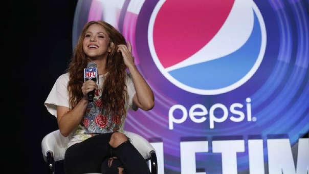 Shakira es la primera artista sudamericana en participar del Super Bowl.