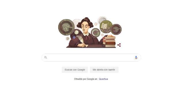 Google realiza homenaje a Mary Somerville en su más reciente doodle.
