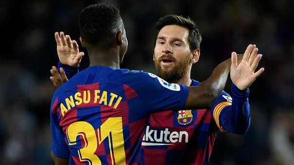 Lionel Messi - Ansu Fati
